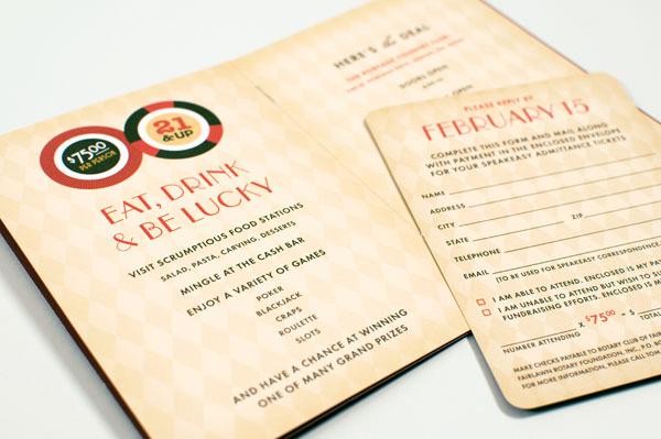 Rotary Club Charity Casino Invitation
