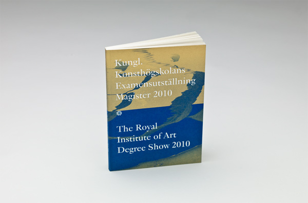 The Swedish Royal Institute of Art Degree Show Catalogue
