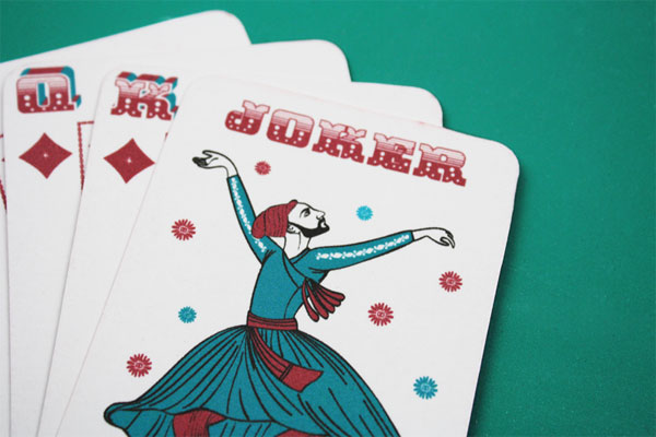 <em />Use Rubber at Night</em> Playing Cards