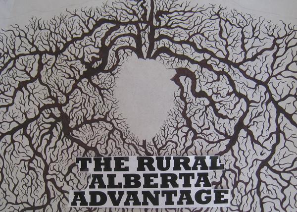 The Rural Alberta Advantage Poster