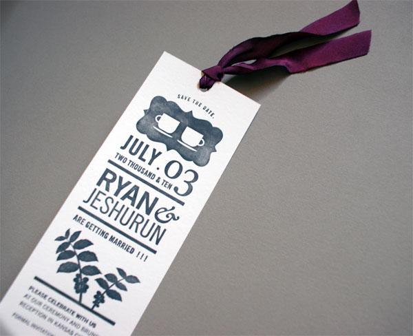 Ryan and Jeshurun Wedding Invitation