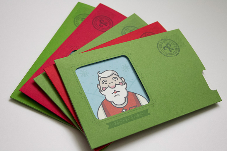 Santa Express Christmas Cards