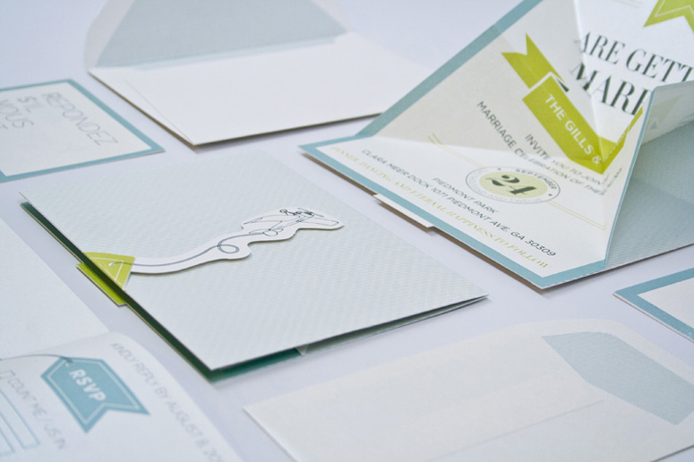 Saray & Mark Wedding Invitation