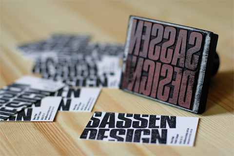 Sassen Design Business Card