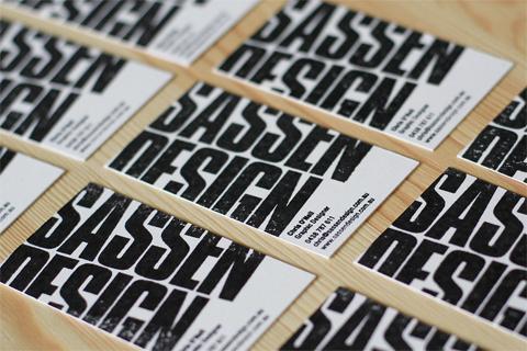 Sassen Design Business Card