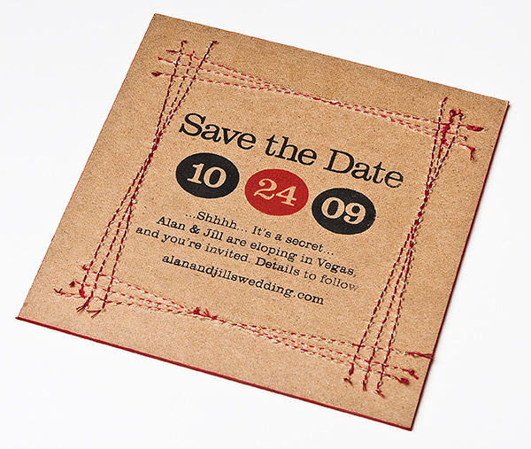 Save the Date Alan and Jill