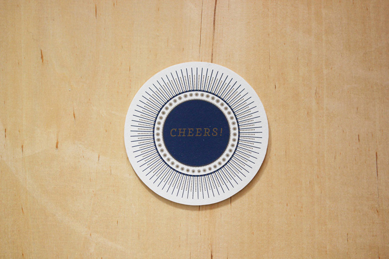 Seamless Creative Cheers Coasters