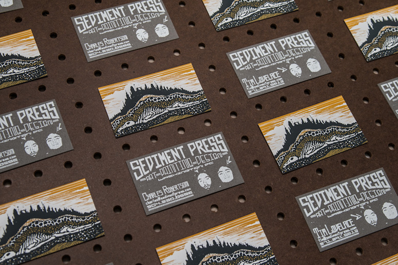 Sediment Press Business Cards