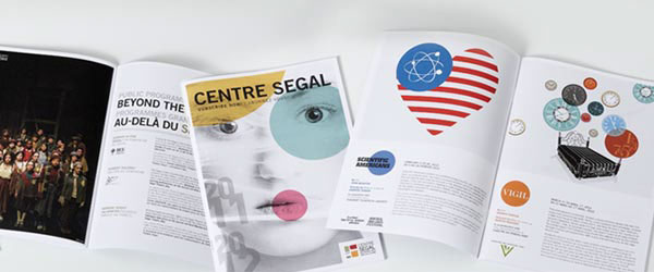 Segal Centre Season Posters