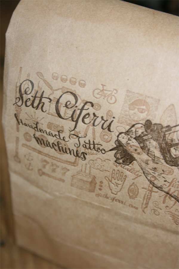 Seth Ciferri Coffee Bags