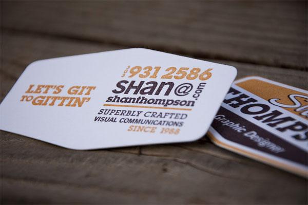 Shan Thompson Business Card
