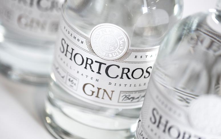Shortcross Gin Packaging