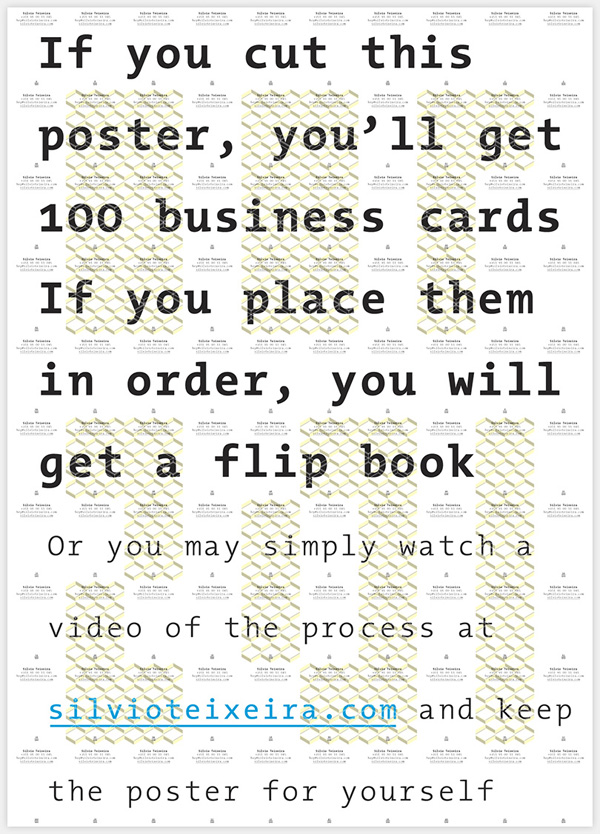 Poster / 100 Business Cards / 1 Video