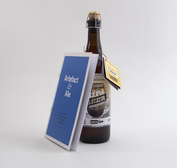 Sipa Beer Label, Hang tag, and Brochure