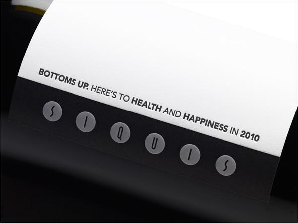 Siquis 2010 Wine Label
