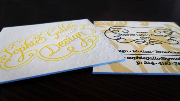 Sophie Gallo Business Cards