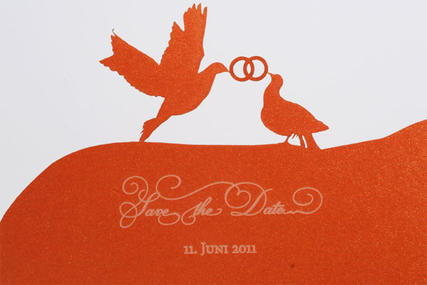 Sophie and Peter Wedding Invitation