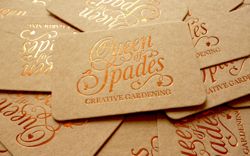 fpo  queen of spades business card