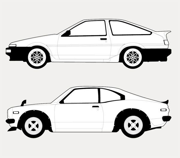 FPO Significant Japanese Sports Cars Poster - Sports cars posters