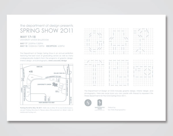 CSUS Spring Show 2011 Postcards