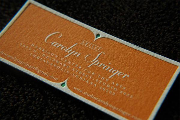 Caroline Springer Business Cardn