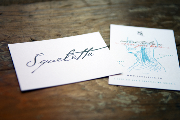 Squelette Business Card
