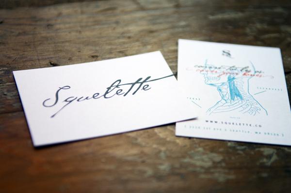Squelette Business Card