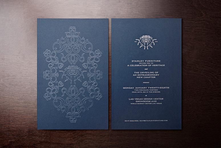 Fpo stanley furniture rebrand launch party invitations description stopboris Images