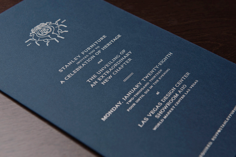 Fpo stanley furniture rebrand launch party invitations description stopboris Image collections