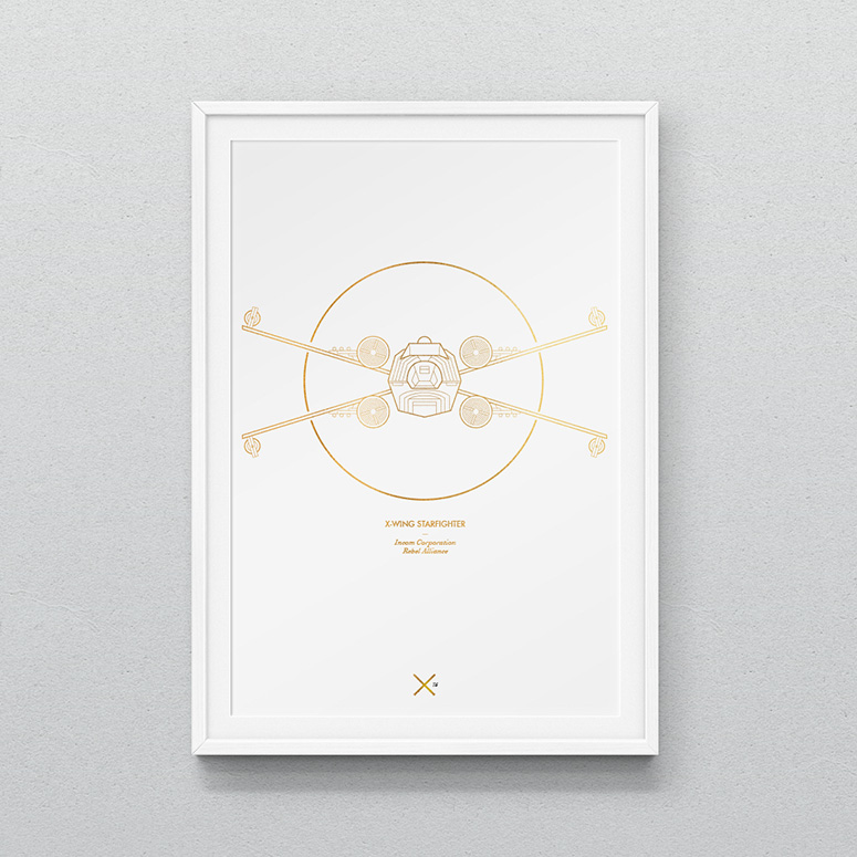Star Wars Spacecraft Prints