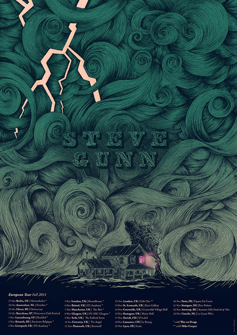 Steve Gunn Poster
