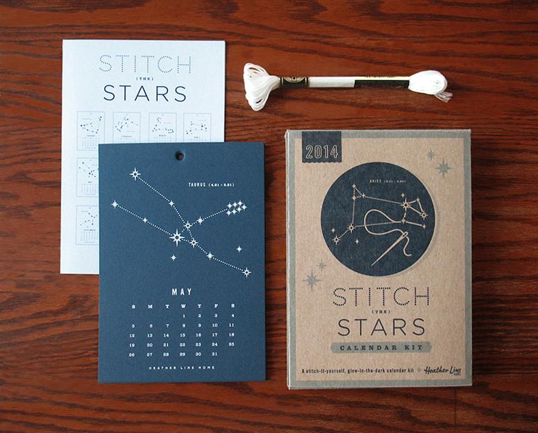2014 Stitch The Starts Calendar