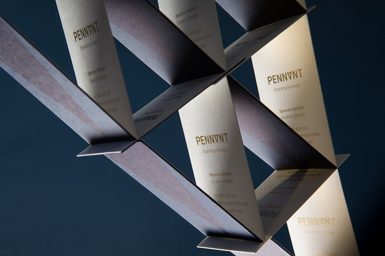 Studio Pennant Business Cards