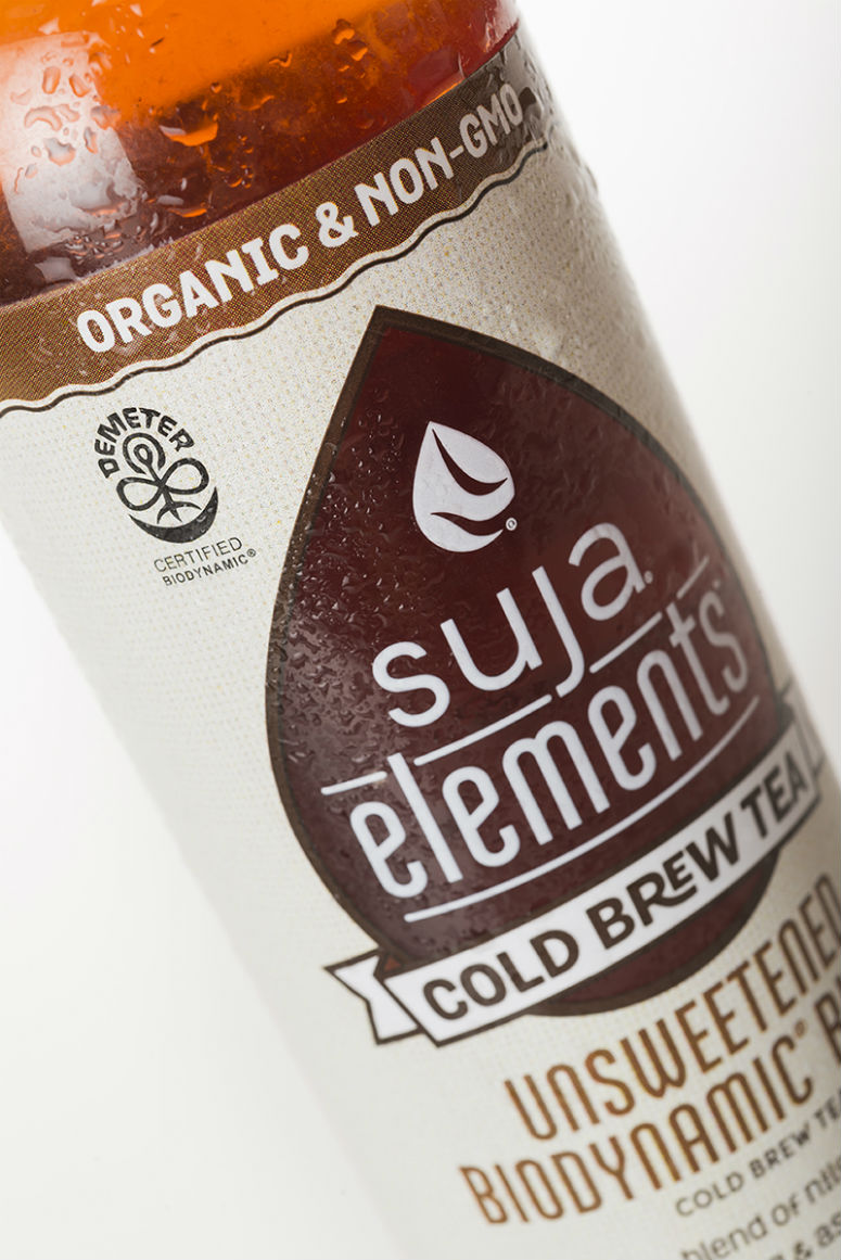 Suja Cold Pressed Juice Packaging