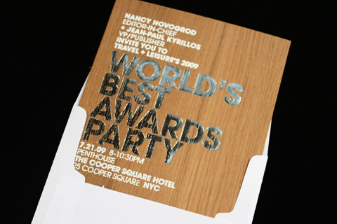 fpo travel leisure world s best awards party invitation