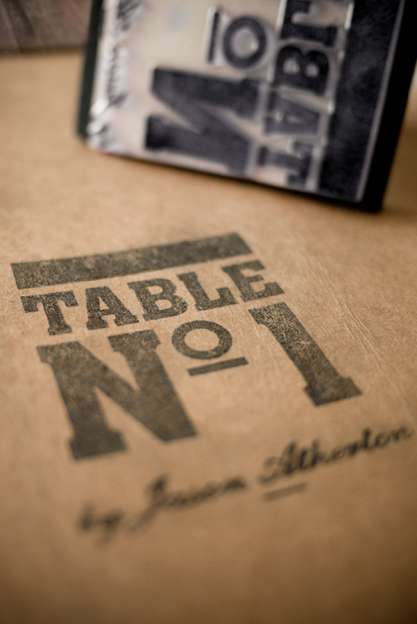 Table Nº1 Identity Materials