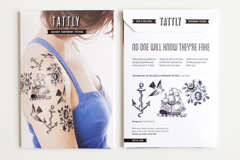 Tattly Set Packaging