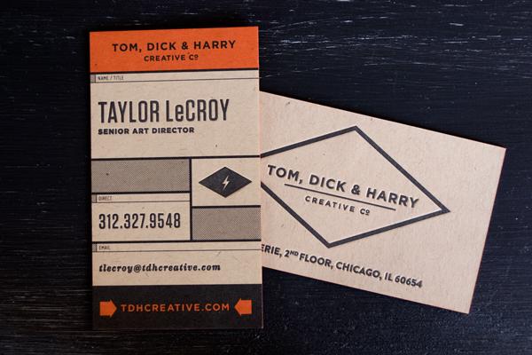 Tom, Dick & Harry Business Card