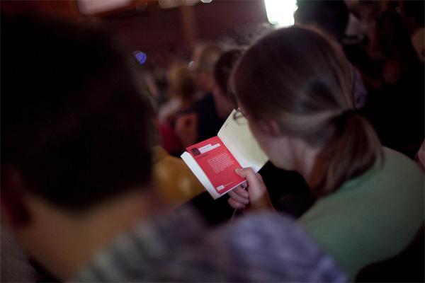 TEDxBoulder Program and Badge