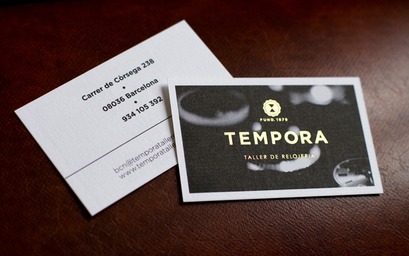 Fpo tempora business card lead image reheart Image collections