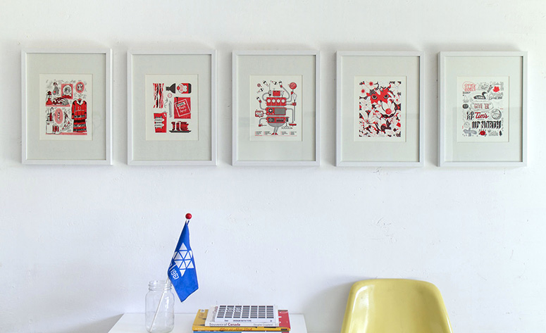 The Canadianist: Nice Letterpress Prints from Canada