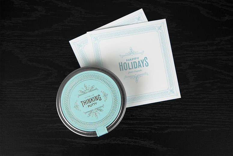 Capsule Holiday Thinking Putty