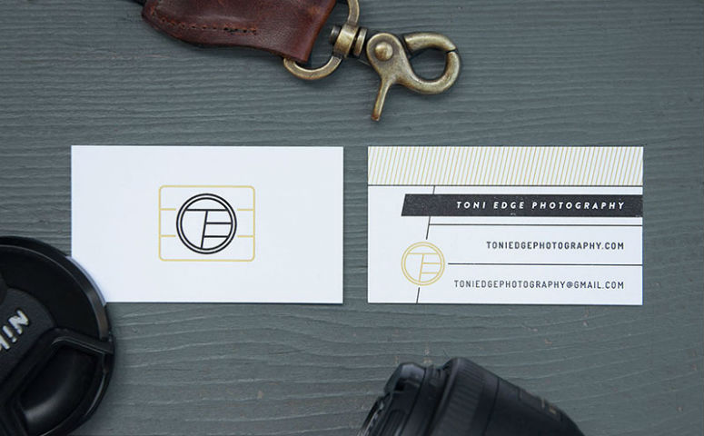 Toni Edge Photography Business Cards
