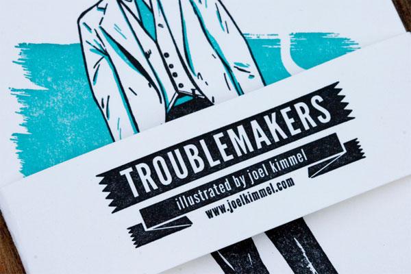 Joel Kimmel Promotional Cards