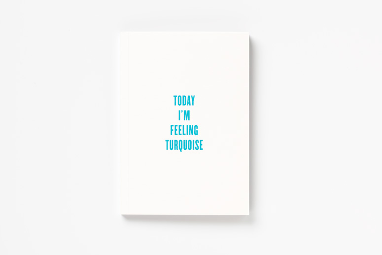 <em>Today I'm Feeling Turquoise</em> Pentagram Booklet
