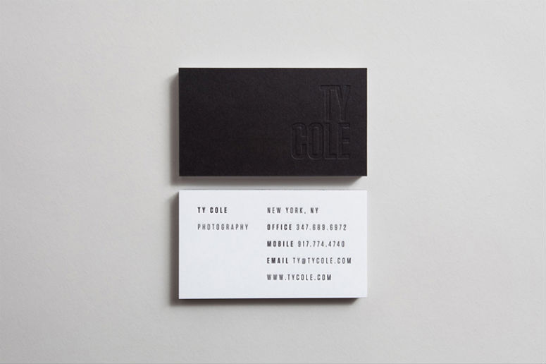 Ty Cole Business Card
