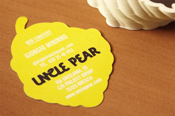 Uncle Pear Business Cards