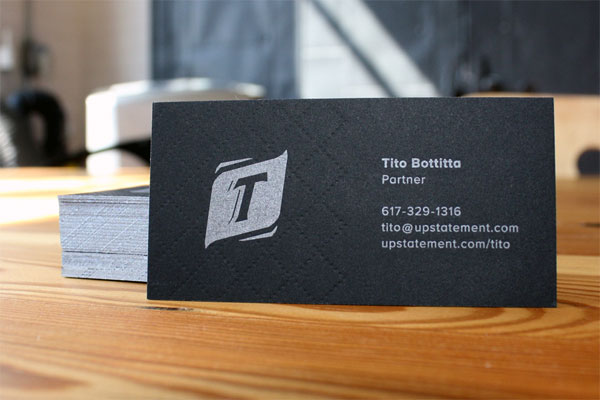 UpStatement Business Cards