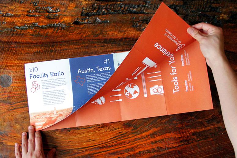 UT Austin Art + Art History Admissions Materials