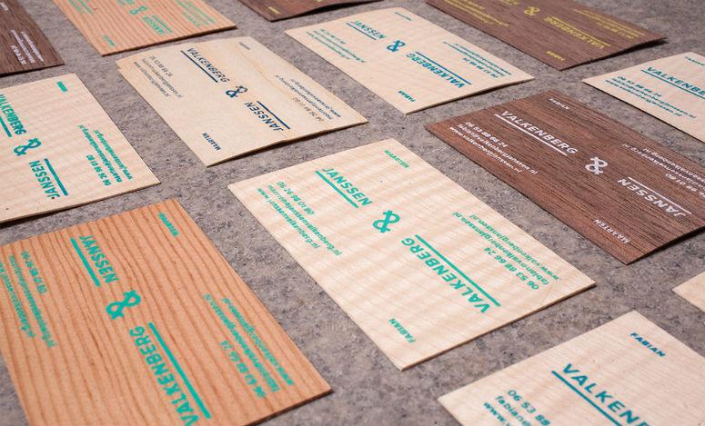 Valkenberg & Janssen Poster and Business Cards